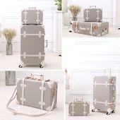 """Vintage Trunk Luggage Lien Gray  """"Werfen Sie den schlichten schwarzen Koffer w...#den #gray #koffer #lien #luggage #schlichten #schwarzen #sie #trunk #vintage #werfen"""