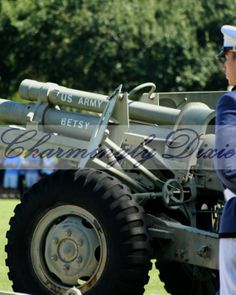 Citadel Parade Cannon  signed matted print by CharminglyDixie, $10.00