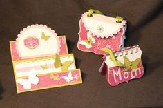 stampin up gift ideas | You can easily make a little booklet by binding together a bunch of ...