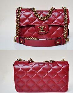 b1c89431b2d Love dark red channel bag - the colour is sooooo. tempting MY NEXT VICTIM!