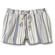 Qsw Water Stripe Beach Short found on Polyvore