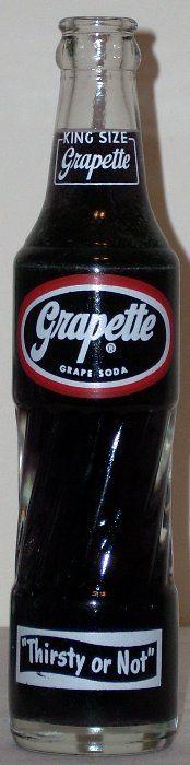 Grapette soda...my favorite!!