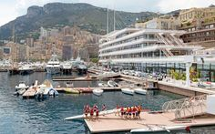 The New Headquarters for the Yacht Club of Monaco: A Masterpiece  by the Renowned Norman Foster