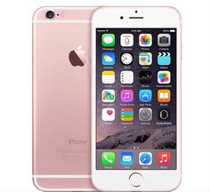 OBSESSED with my new Rose gold iPhone 6S :) even Pinterest is different!