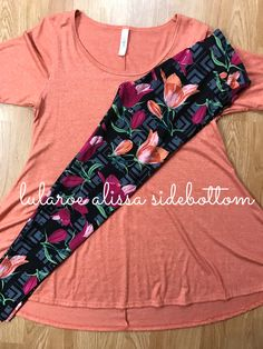 Perfect paired with gorgeous floral LuLaRoe Leggings