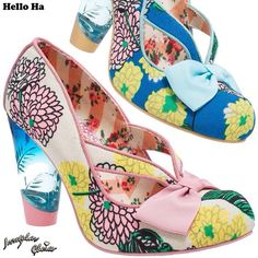 Hello Ha - In-stores & online #SS15 #IrregularChoice
