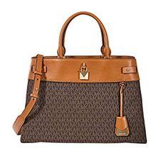 09e27f0f65a6 Michael Kors Gramercy Large Signature Logo Print Satchel #Handbags & Wallets,  #Women, #Clothing, Shoes & Jewelry,