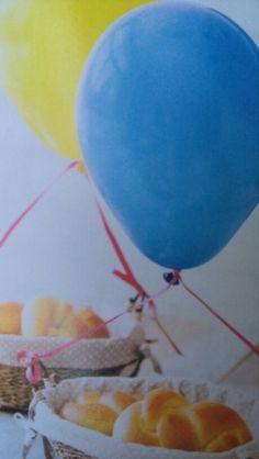 Baloes nas mesas