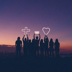 The cross is the ultimate display of a love that knows no limit. Love without borders.