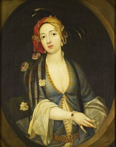 Portrait of a Woman Turquerie-the fashion for all things Turkish started in e late sixteenth century and lasted well into the nineteenth.It wasn't concerne...