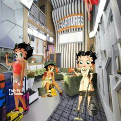Betty Boop in The Big Brother House