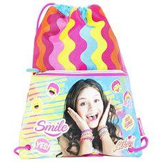 Disney Soy Luna Likes Drawstring Gym Backpack Daypack Travel Bag Slim >>> Click image to review more details.