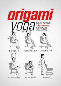 Yoga poses - T-Shirt Womenu0027s Yoga Design for You  sc 1 st  Pinterest & Chair Abs Workout Get Your Sexiest Body Ever! http://yoga-fitness ...
