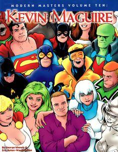 """Quadrinhos: Liga da Justiça Internacional – A Liga do """"Bwahaha"""" Modern-Masters_Kevin-Maguire PIPOCA COM BACON #PipocaComBacon @pipoca_combacon"""