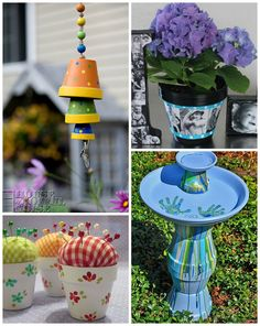 Terracotta flower pots can make such great gifts for moms on Mother's Day! Who knew there could be so many creative ideas? I browsed Pinterest to find my favorite ones but unfortunately most don't have any directions :( Topsy Turvy Flower Pots– No directions, but this website does. These are beautiful for putting in the …