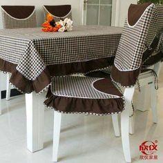 Toalha de mesa marrom