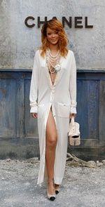 Rihanna entre las mejor vestidas de la semana de la Alta Costura