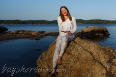 Parry Sound's rugged granite and the clear waters of Georgian Bay's Big Sound make a great backdrop for outdoor portraits.