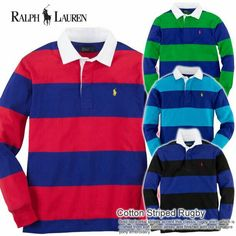 Polo Ralph Lauren Rugby long sleeve. Red and navy blue. Men's size  X-large Great  Condition.