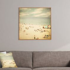 Found it at Joss & Main - Vintage Beach Bamboo Framed Print