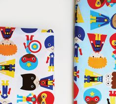 sneak peek: super kids fabric-boys