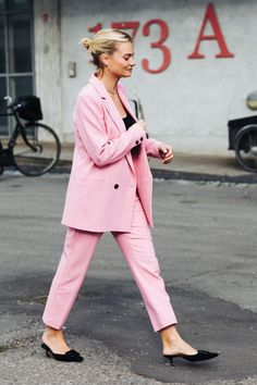 Pink outfit ideas #ootd #fashion
