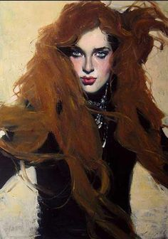 "Fresh new works for 2013 from  Malcolm T. Liepke for his show ""Woman, Unveiled"" at Arcadia Fine Arts, This show continues his long time fascination with Feminine beauty while adding some beautiful males as well."