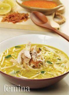 Resep dan cara membuat Soto Kuning Bogor | Resep Masakan Soto Nusantara - Resep Membuat Soto Ayam,Daging,Soto Betawi,Bandung