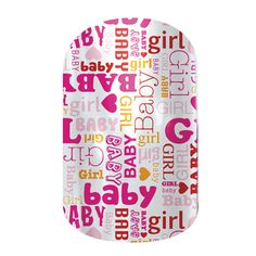 Baby Girl nail wraps by Jamberry Nails Baby Girl Nails, Girls Nails, Baby E, Baby Bows, Baby Girls, Bow Baby Shower, Baby Girl Announcement, Baby Shower Activities, Jamberry Nail Wraps