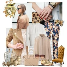 """""""I've got gold... on my shoes"""" by sarapires on Polyvore"""
