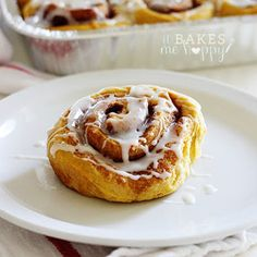 Sweet Potato Cinnamon Rolls are a lightly sweet, delicious, flaky cinnamon roll that is sure to satisfy your sweet tooth any time of day.