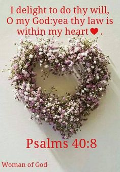 Psalm 40:8