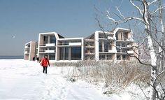 Passivhuse i letklinkerbeton  C.F. Møller. Photo: C.F. Møller