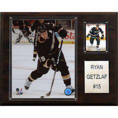 C Collectables NHL 12x15 Ryan Getzlaf Anaheim Ducks Player Plaque