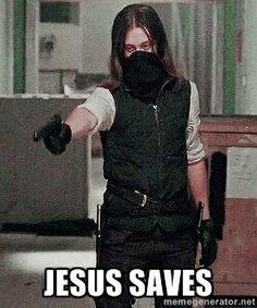 The Walking Dead. Paul 'Jesus' Rovia.
