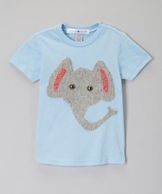 Take a look at the Baby Blue Elephant Tee - Infant, Toddler & Boys on #zulily today!