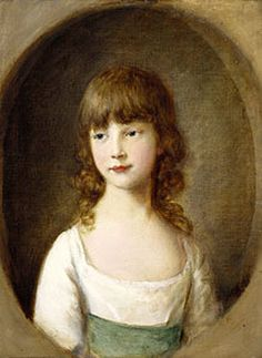 T.Gainsborough - Princess Mary Aged 6