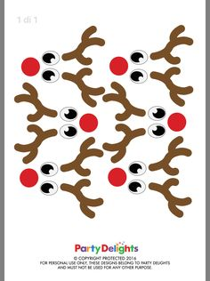 Winter Crafts For Kids, Craft Projects For Kids, Christmas Templates, Christmas Printables, Christmas Makes, Christmas Deer, Ornament Template, Christmas Crafts, Christmas Ornaments
