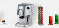 Enjoy your favourite coffee at home with the MAP Perfecto Capsule Coffee Machine.