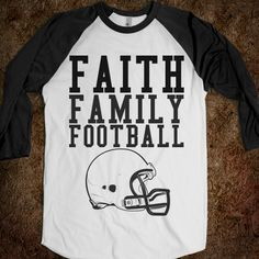 FAITH FAMILY FOOTBALL; @austinmomof7 I need this and I have a bday coming up...hint hint...only maybr make it a football instead of helmet??
