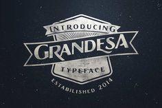 Grandesa Typeface by adamfathony on Envato Elements