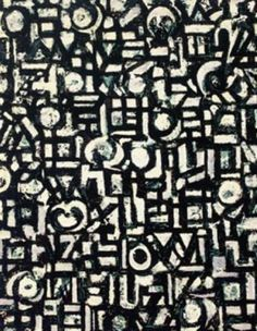 Untitled (1949), Lee Krasner Art Experience NYC www.artexperiencenyc.com
