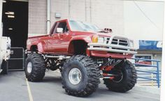 1984 Toyota Xtra-cab with small block Chevy