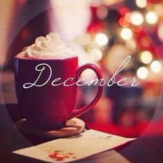 And also, Welcome December! =) Now that it's December it's going to be all things Christmas from here on out! Hello December Tumblr, Hello December Images, December Pictures, December Daily, Happy December, December 1st Quotes, Welcome December Images, December Born, Hello July