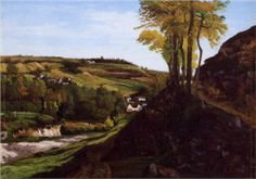 Valley of Ornans - Gustave Courbet