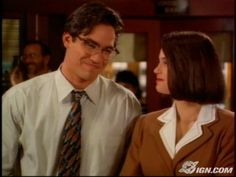Dean Cain as Clark Kent/Superman in Lois and Clark: The New Adventures of Superman