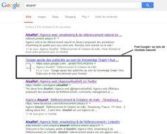 Les posts Google+ font maintenant leur apparition au sein des résultats naturels du moteur de recherche. Difficile de dire que ce réseau social ne favorise pas le référencement naturel !  #smo #googleplus #google #seo #referencement