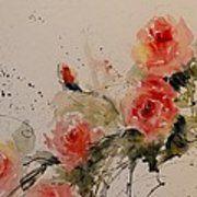 Roses Art Print by Sandra Strohschein