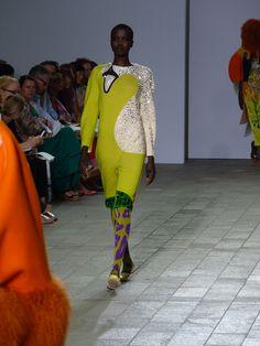 Cental Saint Martin 2012 Fashion Show, design by Manri Kishimoto. All the glitter are Svarowsky beads by the way.