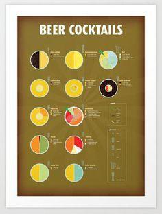 Beer Cocktails ==
